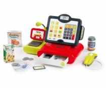 Vaikiškas elektroninis kasos aparatas | Raudonas | Smoby