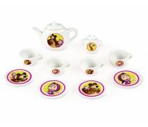 Vaikiškas porceliano kavos-arbatos servizas | Maša ir lokys | Smoby