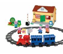 Geležinkelio stotis kaladėlių rinkinys | Peppa Pig | Big