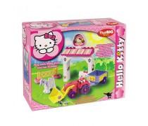 Kaladėlių rinkinys Katytės ferma | Hello Kitty | Big