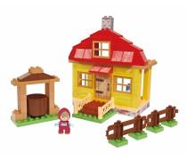 Mašos namai kaladėlių rinkinys | Maša ir Lokys | Big