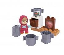 Mašos virtuvė kaladėlių rinkinys | Maša ir Lokys | Big