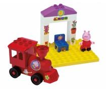 Kaladėlių rinkinys Traukinių stotis | Peppa Pig | Big