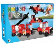 Konstruktorius Ugniagesių transportas | Hero Squad | Clics