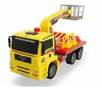 Automobilis MAN 29 cm su bokšteliu | Air Pump | Dickie 3805002