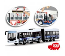 Dvigubas baltas autobusas 46 cm | City Express | Dickie 3748001_BIA
