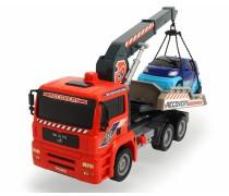Automobilis su kranu | Air Pump Crane Truck | Dickie