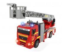 Gaisrinė mašina 31 cm su garso ir šviesos efektais | City Fire Engine | Dickie 3715001