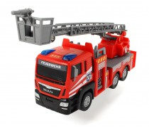 Mini gaisrinė mašina 17 cm | MAN Fire Engine | Dickie