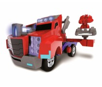 Mašinėlė transformeris | Optimus Prime Battle Truck | Dickie