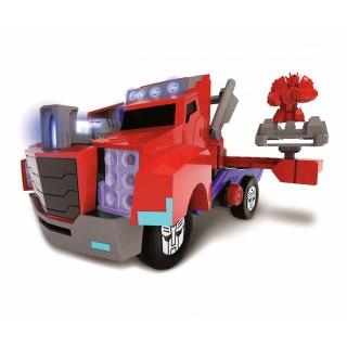 Mašinėlė transformeris | Optimus Prime Battle Truck | Dickie 3116003