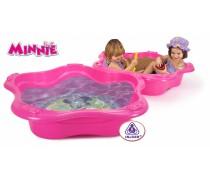 2in1 vaikškas rožinis baseinas-smėlio dėžė su dangčiu | Frozen | Injusa