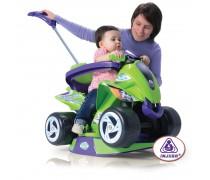 Vaikiška daugiafunkcė paspiriamoji keturratė mašina | Goliath quad| Injusa