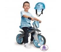 Vaikiškas balansinis dviratukas su šalmu | Jumper | Injusa