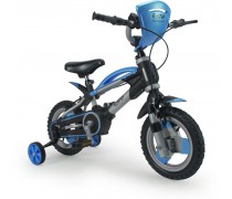 Vaikiškas mėlynas 2in1 balansinis dviratukas su pripučiamais ratais   Elite   Injusa