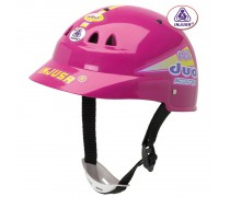 Vaikiškas rožinis dviratininko šalmas | Injusa