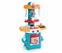 Stilinga vaikiška virtuvėlė su 22 priedais | Smoby