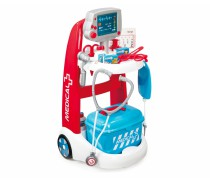 Vaikiškas gydytojo elektroninis vežimėlis su priedais | Smoby
