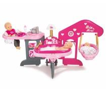 Vaikiškas lėlės priežiūros rinkinys su priedais | Baby Nurse | Smoby 220318