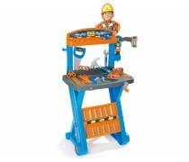 Vaikiškas meistro Bob Builder darbastalis su priedais 39 vnt | Smoby 360306