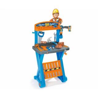 Vaikiškas meistro Bob Builder darbastalis su priedais 39 vnt | Smoby