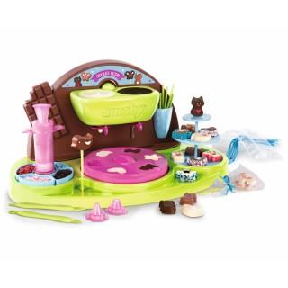 Vaikiškas šokoladinių saldainių gaminimo indų rinkinys | Super Chef | Smoby 312102