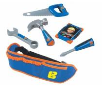 Vaikiškas statybininko Bobo įrankių diržas su priedais | Smoby