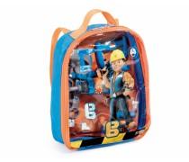 Vaikiškas atsuktuvas su įrankiais kuprinėje | Bob The Builder | Smoby 360136