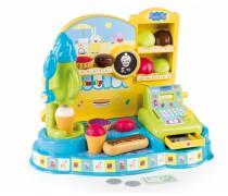 Žaislinė ledainė-cukrainė su kasos aparatu ir priedais | Peppa Pig | Smoby 350403