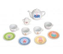 Vaikiškas porceliano kavos-arbatos rinkinys | Peppa Pig | Smoby