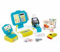 Žaislinis interaktyvus kasos aparatas su priedais 27 vnt | Smoby 2018