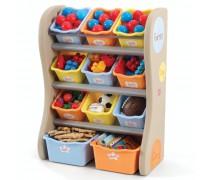 Spalvinga vaikiška lentyna žaislams | Step2 7289