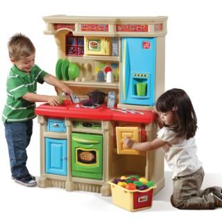 Vaikiška interaktyvi virtuvėlė su priedais 2 vnt.| Step2 8348