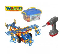 Vaikiškas konstruktorius 144 detalės | Wader 55217