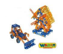 Vaikiškas konstruktorius 330 detalių | Wader