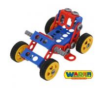Vaikiškas konstruktorius 87 detalės | Wader 55057