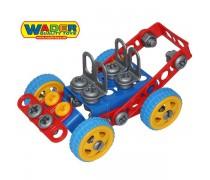 Vaikiškas konstruktorius 90 detalių | Wader 55071