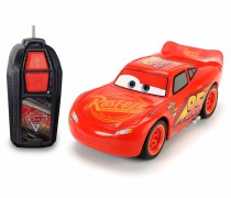 Automobilis 14 cm Žaibas Makvynas Ratai 3 | Lightning McQueen Single Drive | Dickie 3081000