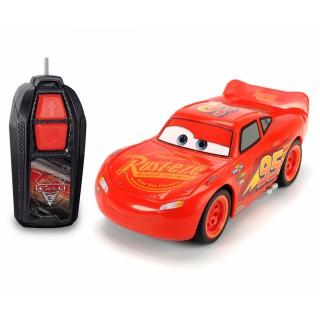 Automobilis Žaibas Makvynas Ratai 3   Lightning McQueen Single Drive   Dickie