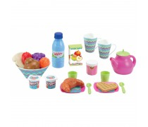 Žaislinis pusryčių rinkinys dėžutėje | Ecoiffier