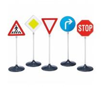 Žaislinių didelių kelio ženklų rinkinys 5 vnt | Klein