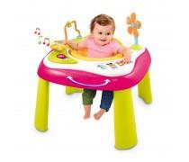 Interaktyvus staliukas su sėdyne 2in1 | rožinis | Smoby