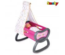 Lopšys lovytė lėlei iki 42 cm | Baby Nurse | Smoby