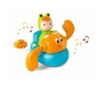 Maudynių žaislas - plaukiantis krabas su muzikos garsais | Cotoons | Smoby 110611