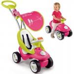 Mašinėlė paspirtukas Pink 2in1 | Bubble Go | Smoby