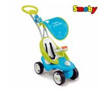 Mašinėlė paspirtukas Blue 2in1 | Bubble Go | Smoby 720101