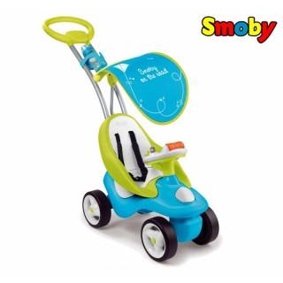 Mašinėlė paspirtukas Blue 2in1 | Bubble Go | Smoby