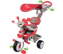 Vaikiškas raudonas triratukas | Baby Driver Comfort | Smoby