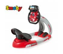 Vaikiškas lenktynių simuliatorius su telefono laikikliu | V8 | Smoby 370206