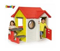 Vaikiškas žaidimų namelis | My House | Smoby 810401